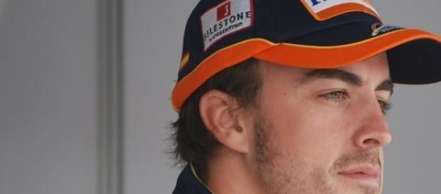 Formula1 pilot Fernando Alonso