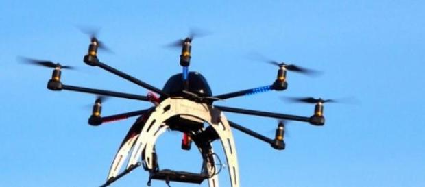 Imagen de un tipo de dron utilizado