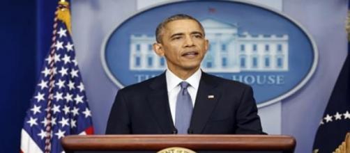 El presidente de EU, Barack Obama