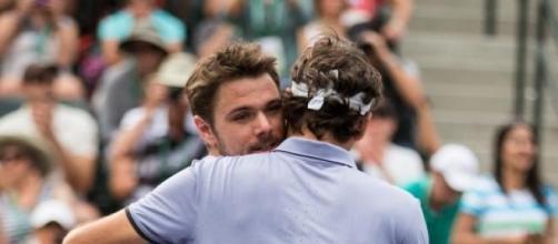 Federer e Wawrinka são amigos de longa data.