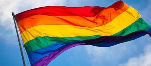 LGBT community rainbow flag