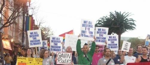 LGBT rally for marriage right