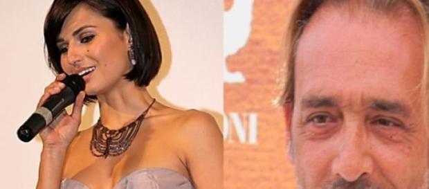 Anna Safroncik e Luca Ward due attori della serie.