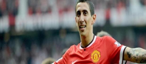 Di Maria, centrocampista del Manchester United