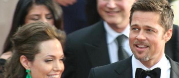 I coniugi Brad Pitt e Angelina Jolie