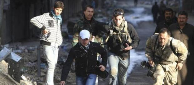 Journalists flee from terror in Syria