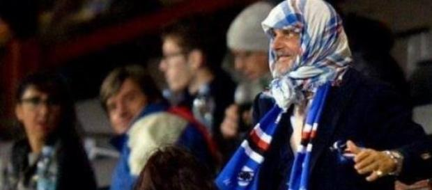 Massimo Ferrero patron della Sampdoria