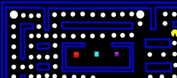 Pac-Man un juego sencillo y adictivo a la vez.