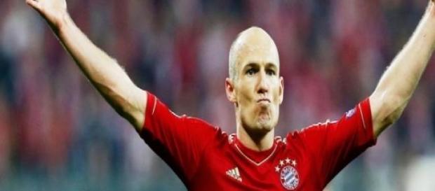 Robben, fuoriclasse del Bayern Monaco