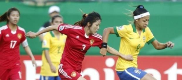 Seleção brasileira feminina fez bonito em campo