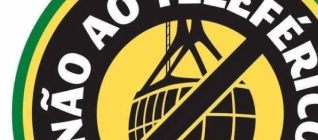 Símbolo do movimento 'Salvem o Leme'