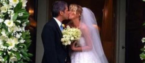 alessia marcuzzi, nozze segrete