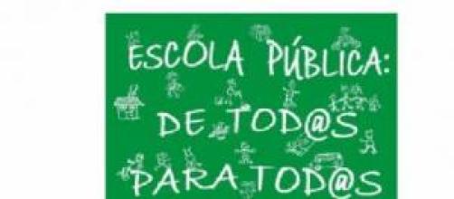 Escola pública. De todos para todos.