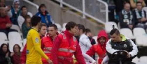 Francis jugador del Racing de Santander
