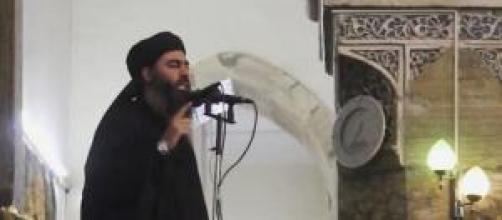 Il leader dell'Isis, Abu Bakr al-Baghdadi.