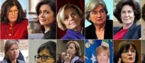 Le candidate alla successione di Napolitano