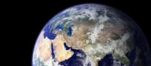 O nosso planeta visto do espaço.