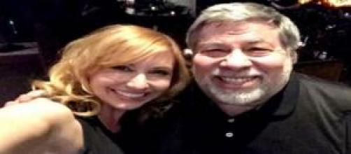 Steve Wozniak cofundador de Apple y Karl Byron
