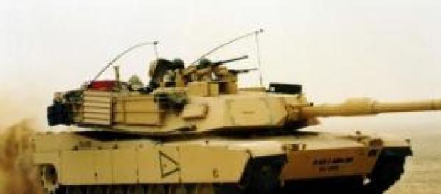 """Amerykański czołg typu """"M1 Abrams"""""""