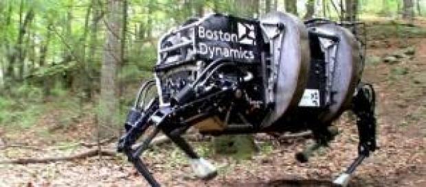 "Boston Dynamics - quadrupède ""Alpha Dog"""