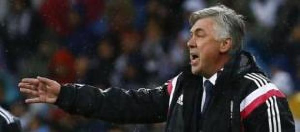 Carlo Ancelotti, entrenador del Real Madrid