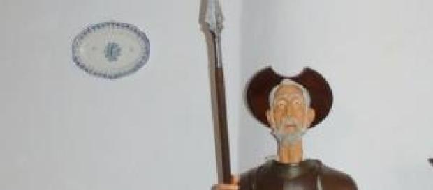 Don Quijote, personaje célebre de la literatura