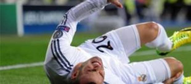 Jesé, en el momento de su lesión. Foto: Córdoba