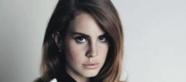 """La cantante """"Lana del Rey"""""""
