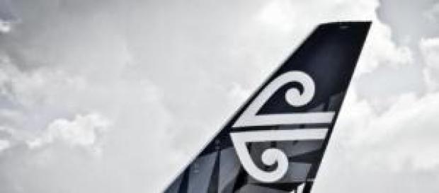 Un aereo della Air New Zealand