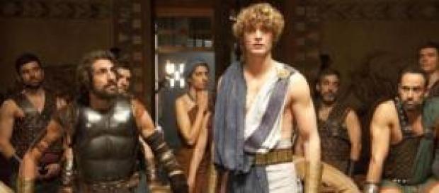 Una scena della fiction 'Il ritorno di Ulisse'