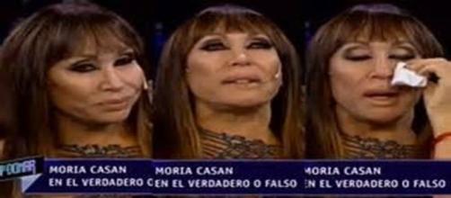 Moria Casán llora al recordar a Mario Castiglione
