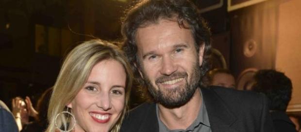 Carlo Cracco con la compagna Rosa Fanti