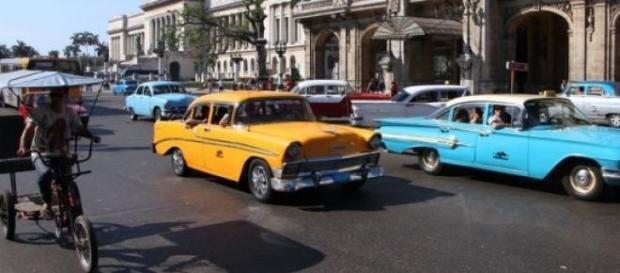 Coches de los 50 en la Habana