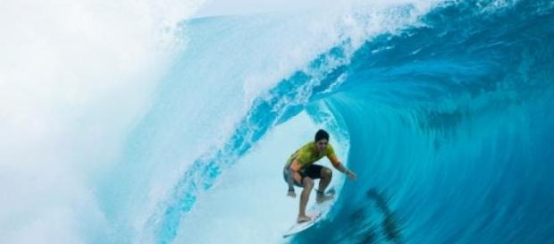 Gabriel Medina, campeão de surfe aos 20 anos