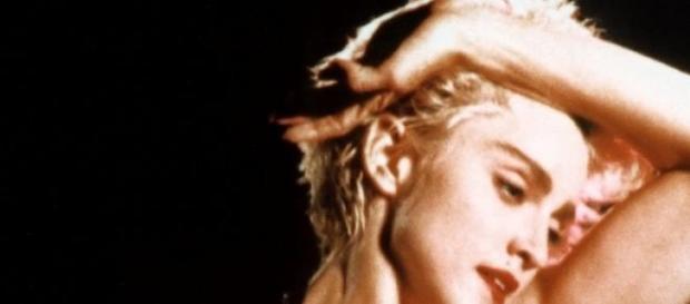 Una joven Madonna, con uno de sus tantos estilos