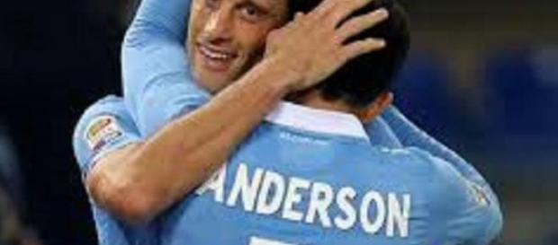 Anderson show in Inter-Lazio terminata 2-2