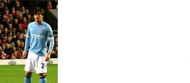 David Silva scored twice against Palace
