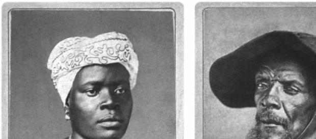 matrimonio de esclavos de color