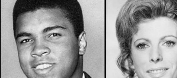 Muhammad Ali y Billie Whitelaw.