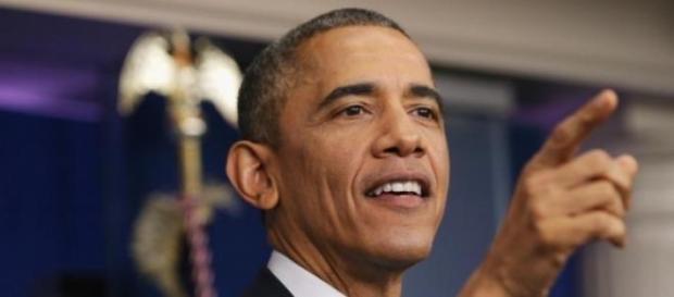 Obama em seu habitual discurso de fim de ano