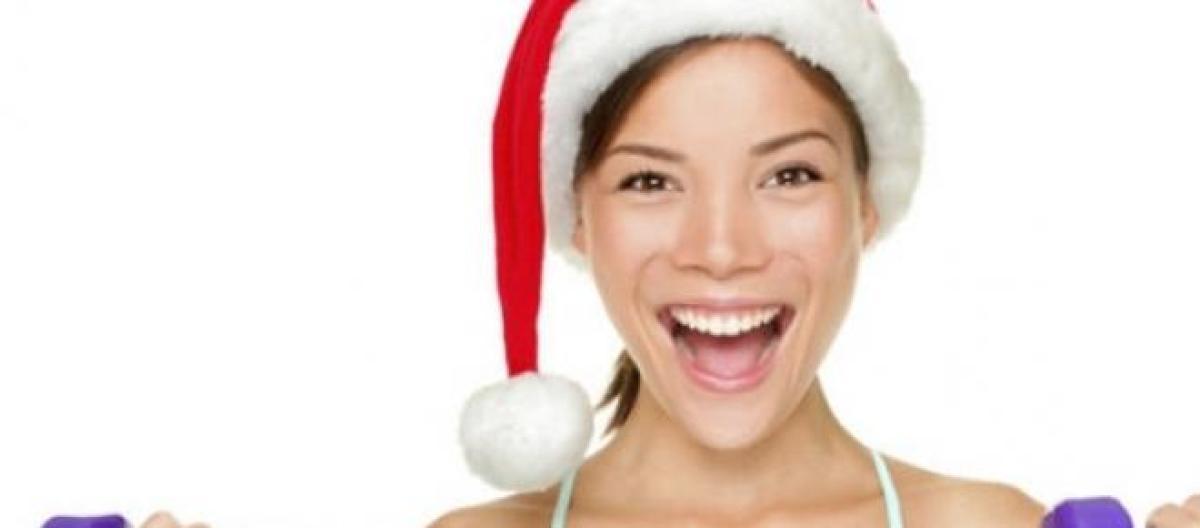 como perder peso en navidad