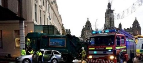 Glasgow Dustbin lorry incident