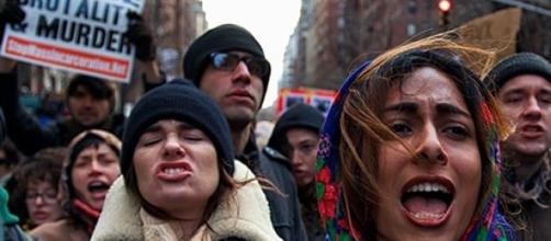 Manifestazioni nelle piazze americane