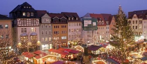 Mercado de Navidad en Jena, Alemania