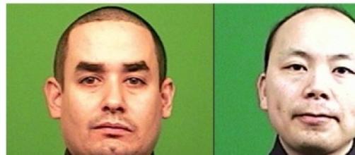 Rafael Ramos y Wenjian Liu  oficiales abatidos
