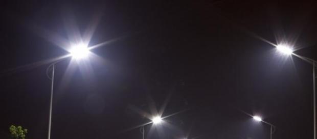Energy efficient street lights.