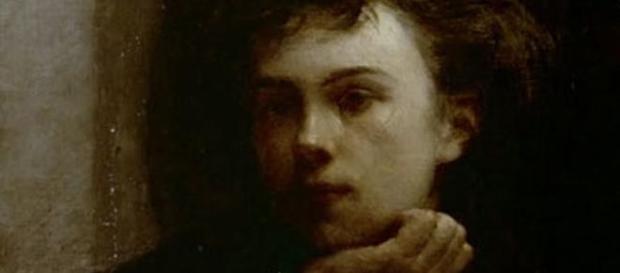 O jovem poeta Arthur Rimbaud