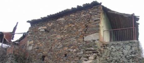 As tradicionais casas de xisto