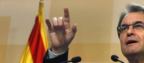 Artur Mas realizo un acto de desobediencia