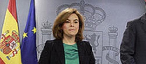 La vicepresidenta ha presentado el aumento del SMI